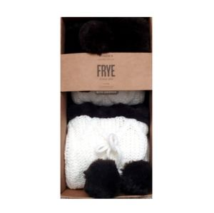 Frye tassel gripper socks